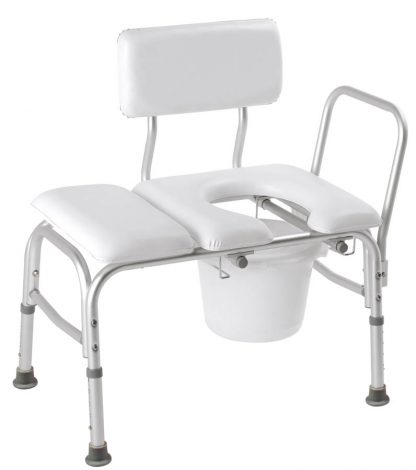 Shower Chair Commode Padded
